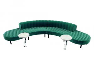 Endless Powered Low Back Comma Sectional -- CESS-063