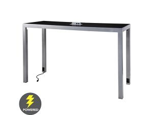 CECT-033 | Ventura Communal Bar Table (Black) -- Trade Show Rental Furniture