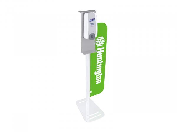 MOD-9001 Hand Sanitizer Stand with Graphic Branding