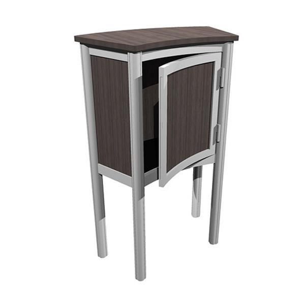 ECO-30C Sustainable Pedestal - View 2