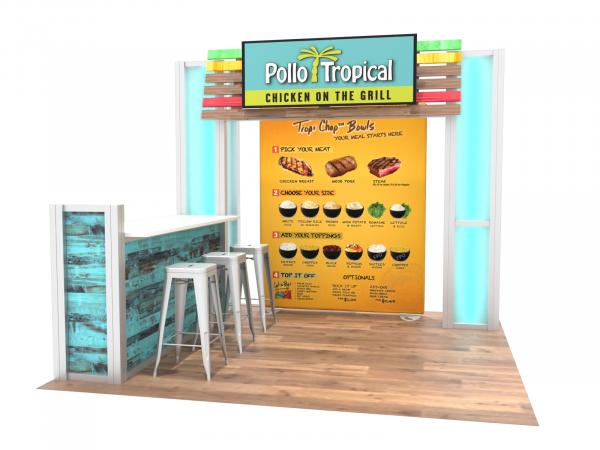 ECO-1123 Sustainable Trade Show Display -- Image 1