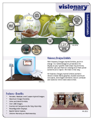 Visionary Designs Product Literature