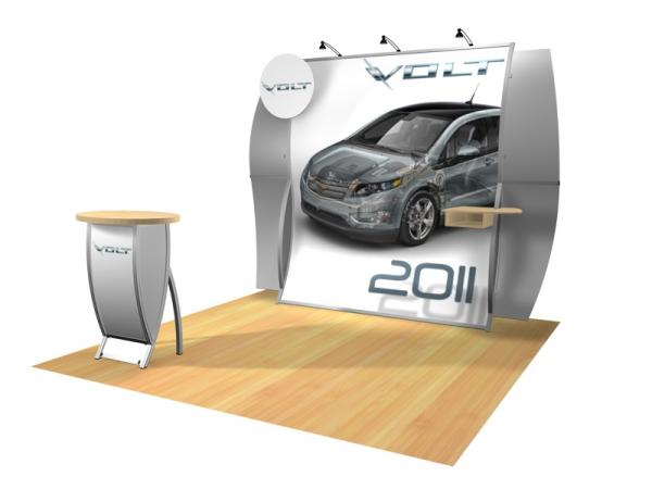 Perfect 10 VK-1512 Portable Hybrid Trade Show Display -- Image 3