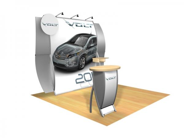 Perfect 10 VK-1512 Portable Hybrid Trade Show Display -- Image 1