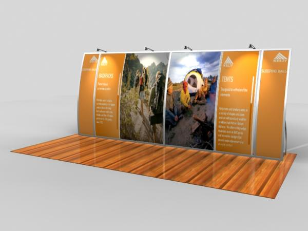 VK-2091 Portable Trade Show Display