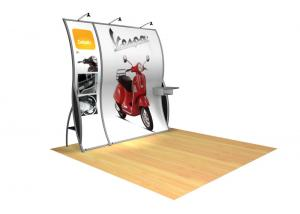 Perfect 10 VK-1501 Portable Hybrid Trade Show Display -- Image 1