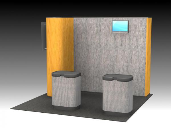 QD-133 Trade Show Pop Up Exhibit