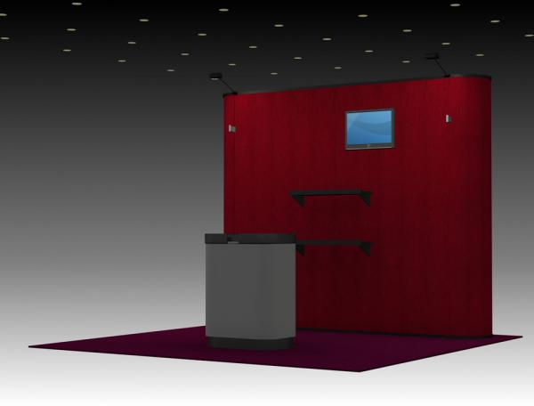 QD-131 Trade Show Pop Up Exhibit
