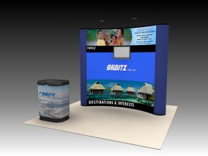 QD-104 Trade Show Pop Up Display -- Image 1