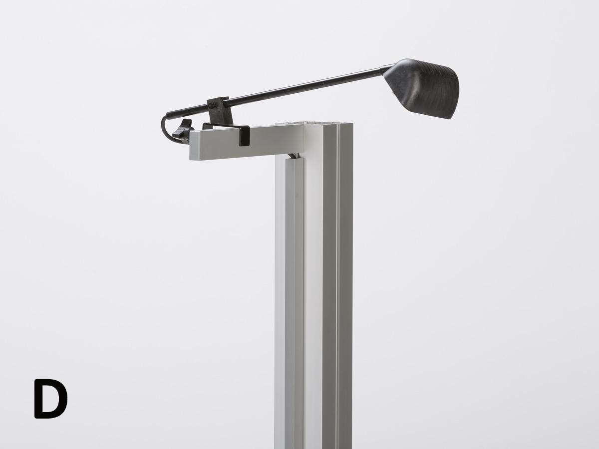 Exhibition Light D Model : Exhibit design search re 101 arm lights rental accessories