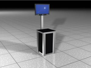 RE-1224 Rental Display Workstation / Kiosk -- Image 1