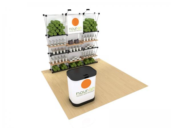 RE-1066 Trade Show Pop Up Display