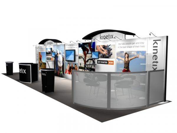 RE-4002 Rental Exhibit / 10� x 40� Inline Trade Show Display � Image 3