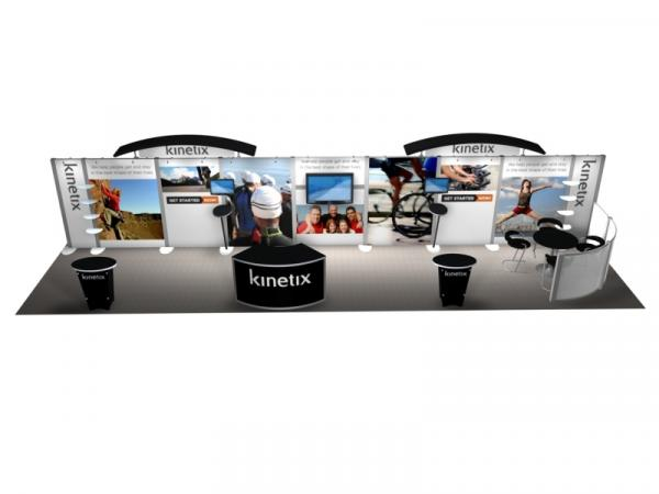 RE-4002 Rental Exhibit / 10� x 40� Inline Trade Show Display � Image 4
