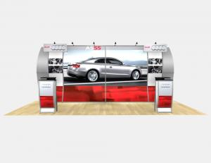 RE-2013 Rental Exhibit / 10� x 20� Inline Trade Show Display � Image 2